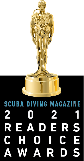 Sea Experience has earned Reader's Choice Awards from Scuba Diving Magazine each of the last three years!